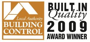 David Robinson Builders - Build in Quality Award